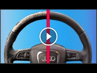 Как восстановить кожаный руль своими руками?