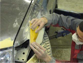 Что нужно для шпаклевки авто своими руками?