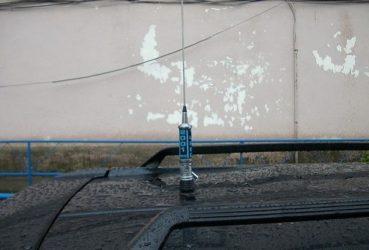 Как поставить антенну на машину?