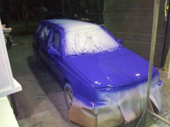 Как покрасить машину валиком своими руками?