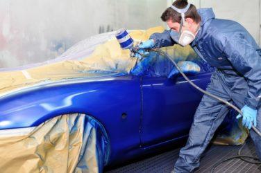 Что нужно чтобы покрасить машину?